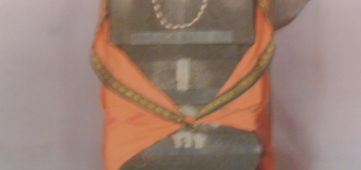 Mritika Brindavana of Sri Sri 1008 Sri Raghuthama Theertha Mahan at Press Colony installed in the year 1996