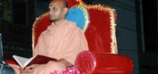 Sri Satyatma Tirtha Mahan - Coimbatore Digvijaya
