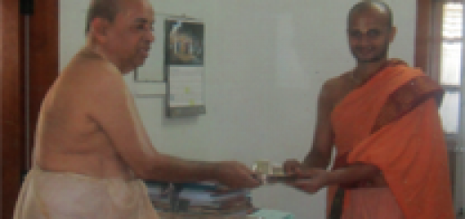 Silver Kavacham for Sri Satyavara Tirtha Mahan