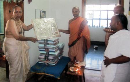 Silver Kavacham for Sri Satya Abhinva Tirtha Mahan